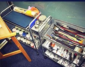 学校环境-画材画笔