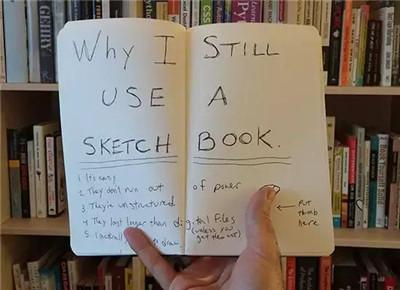 艺术留学作品集干货   怎么用sketchbook,为面试加分