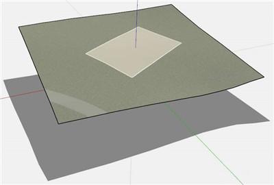 干货分享   Sketchup中的CutNfill(开挖及填充)插件教程