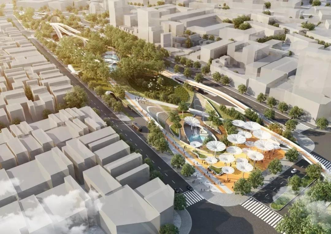 景观案例分享 | 越南胡志明市中央公园设计,增强空间生态
