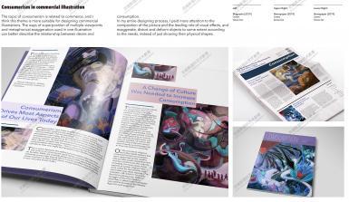 02伦敦艺术大学插画录取案例