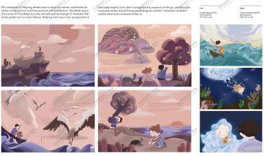 03伦敦艺术大学插画录取案例