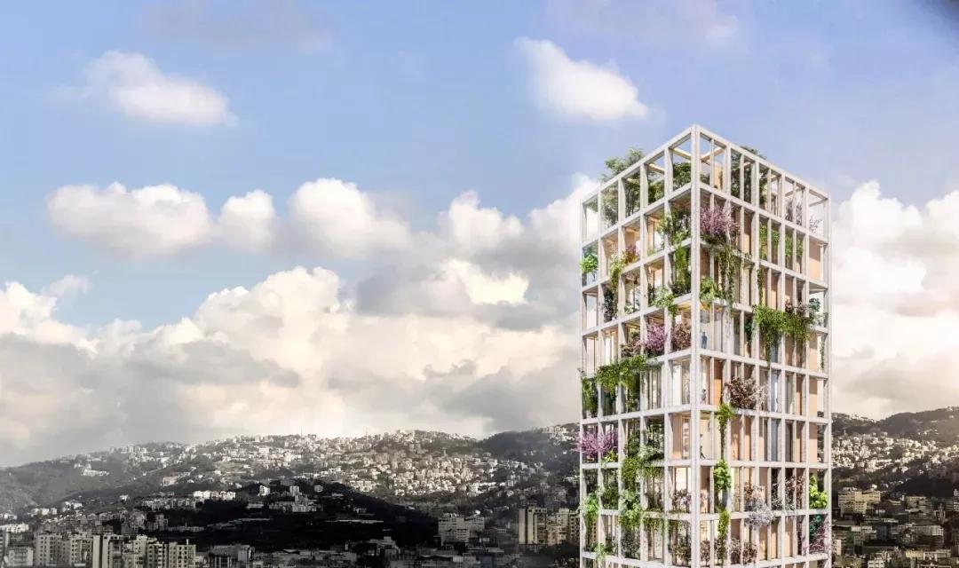 建筑案例分享01 | MM住宅楼设计(农场+种植+车间+食宿...)