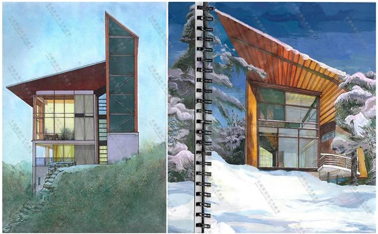 克瑞思高中课堂 02 | 建筑专业作品集之本科申请
